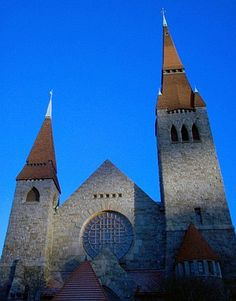 The Towers of Tampere Cathedral
