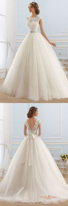 Boho Prom Dresses, Tulle Bateau Neckline Ball Gown Wedding Dress, you be the star of your own prom by offering you hundreds of options for your perfect 2020 prom dress! Scoop Wedding Dress, Dream Wedding Dresses, Bridal Dresses, Wedding Gowns, Tulle Wedding, Wedding Rings, Ivory Wedding, Wedding Sundress, Wedding Venues