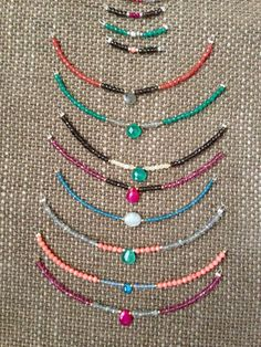 Collares minerales