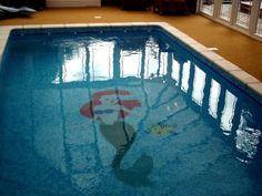 the little mermaid, pool, ariel,