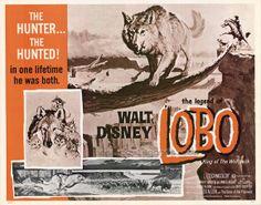 The Legend of Lobo disney movie poster, Half Sheet