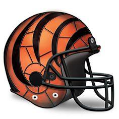 Cincinnati Bengals Football Helmet Accent Lamp