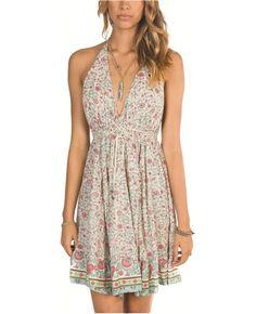 Billabong Pure Hearted Dress - White Cap - JD131PUR | Billabong US