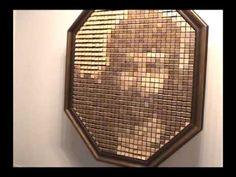 wooden mirror!