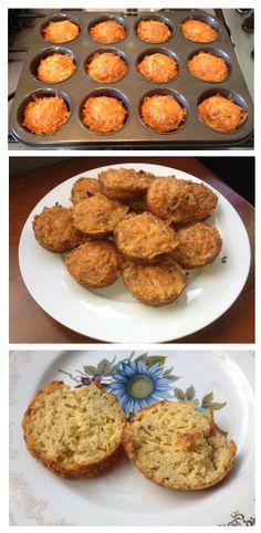 Gluten-Free Cheese Muffins from Primal Journey