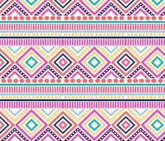 tribal fabric by efolsen on Spoonflower - custom fabric