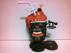 Halloween Soda Shop House * OOAK Custom My Little Pony Littlest Pet Shop