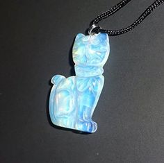 Opalite Cat Natural Carved Crystal Healing Gemstone Pendant with Bail & Necklace Sublime Gifts http://www.amazon.com/dp/B011GYCLDW/ref=cm_sw_r_pi_dp_3o3Yvb1A3EDK4