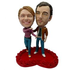 Personalized Bobble Heads....made to look just like who ever you like.