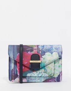 f0cbc3ac7 Ted Baker Hydrangea Crosshatch Cross Body Bag at asos.com