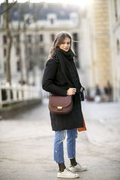 Look parisien pour le week-end / Street style : 20 looks pour un week-end décontracté