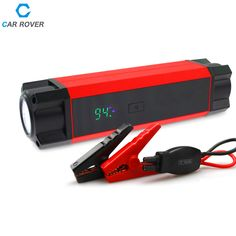 2016 New High Capacity Car Jump Starter Mini Portable Emergency Battery Charger for Petrol Diesel Car 1000A Peak Current   SOS * Click the VISIT button to find out more