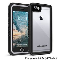 Waterproof case for iPhone 6/6s, UBeesize Transparent Shockproof Underwater Cover Full Body Protective Drop Resistant Heavy Duty Case for iPhone 6/6s (4.7in)  https://topcellulardeals.com/product/waterproof-case-for-iphone-66s-ubeesize-transparent-shockproof-underwater-cover-full-body-protective-drop-resistant-heavy-duty-case-for-iphone-66s-4-7in/  Certified 100% Waterproof – Complete Sealed Protection with IP68 Certified Waterproof, fully submersible to 6.6 ft/2 m deep