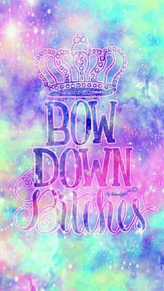 Bow down galaxy wallpaper I created for the app CocoPPa.