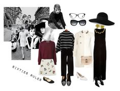 """Sixties Rules"" by caterineevita on Polyvore featuring Vanity Fair, FitFlop, Free People, Chanel, Yves Saint Laurent, Precis Petite, Rainbow Club, River Island, Tiffany & Co. and Boden"