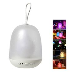 Anpress Portable Multicolor LED Night Lamp Colorful Baby Night light Stepless Changing Color Autooff Timer Hanging Rope USB Rechargeable for Bedroom Baby Room Camping * Check out the image by visiting the link.