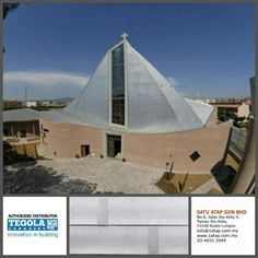Tegola  prestige ZT Compact with zinc Titanium. Suitable for high end building. 100% from Italy.  How complexity your deign, teglla shingle roofing always give 3 benefits: -enhance beauty -zero leaking with warranty -increase property value  Tegola the only fashionable roof for life.  www.1atap.com.my/tegola