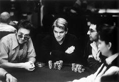 Rounders. One of greatest guy flicks ever. Gotta love poker.