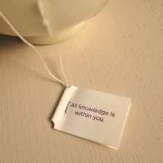 today's quote of Yogi tea