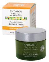Andalou Naturals Glycolic Brightening Mask Pumpkin Honey