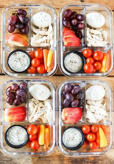 Protein Fruit and Veggie Meal Prep Bistro Box - Ze. - Protein Fruit and Veggie Meal Prep Bistro Box – Zero Weight Watchers Freestyle Points Source by arleenrinnert Veggie Meal Prep, Lunch Meal Prep, Healthy Meal Prep, Healthy Drinks, Healthy Snacks, Healthy Recipes, Keto Recipes, Healthy Lunch To Go, Easy Recipes