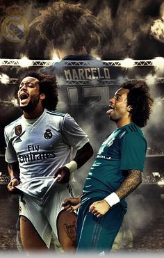 Football Posters, Soccer Poster, Real Madrid, Marcelo Real, Soccer Room, Best Football Team, Cristiano Ronaldo, Victoria, Men