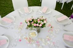 White with a hint of pink! Love it! Photo by Hilary Cam Photography.