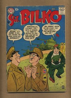 Sergeant Bilko 1 (G) DC Comics 1957 Phil Silvers TV armed forces comedy (c#11502