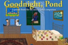 "The last copies of the first edition of ""Goodnight, Pond"" are on sale right now! So excited we got one...it'll be an awesome addition to the Doctor Who nursery we're planning. ;)"