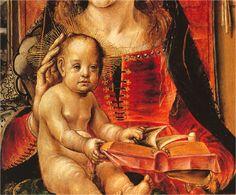 La Virgen y el Niño, Pedro Berruguete, Museo del Prado, Madrid (detalle) Apple Dress, Spanish Fashion, Historical Clothing, Female Clothing, Dark Ages, 15th Century, Prado, Renaissance, Medieval