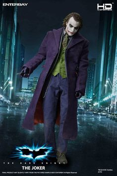Figura Batman The Dark Knight. Joker HD Masterpiece 1/4, 52cm