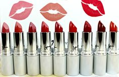 Holiday Lip Picks - IT Cosmetics Blurred Lines™ Smooth-Fill Lipstick Swatches Lipstick Swatches, Red Lipsticks, Diy Beauty, Fashion Beauty, Ombre Lips, Hair Hacks, Hair Tips, Bare Minerals, Beauty Review