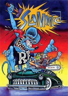 Rat Fink Ed Big Daddy Roth - Slammed