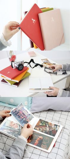 Keep your photos and precious memories safe with this soft leather photo album! It comes in a smaller size, too~!