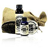 Beard Care Kit by Mountaineer Brand: All-Natural Complete Beard Care in one Kit (WV Coal)