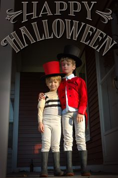 Costumes (Lion Tamer & Strong Man)