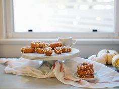 Pumpkin Chaï Mochi Donuts