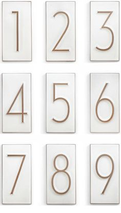 house industries, heath ceramics, house number tiles, neutraface condensed