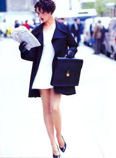 Tendência do Inverno 2013: O minimalismo dos anos 90 de volta à moda