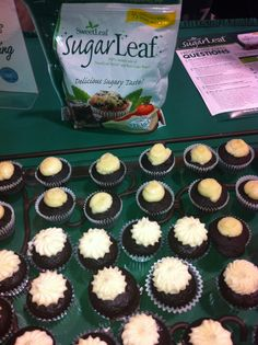 Delicious muffins made with Sugar Leaf Sweetner