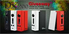 Win the new DX200 Box Mod from HotCig at http://VapingCheap.com