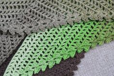 The My Story Shawl is a simple pattern that encourages you to tell your own story through the colours you choose to use.