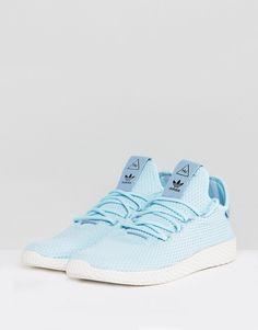 099de2ba8f3 adidas Originals x Pharrell Williams Tennis HU Sneakers In Blue
