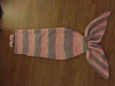 Zeemermin deken gehaakt   Crochet mermaid tail