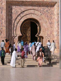 Mosque in Touba, Senegal