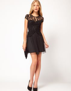 ASOS Party Mesh Dress. Love!