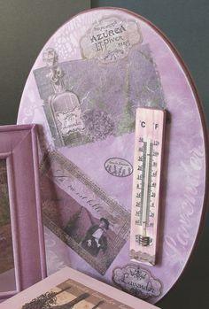 Coordinato Quadro+termometro da interno