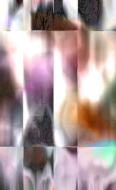 Michael L. Williams art work. I like the graph organization coupled with the abstract shapes.