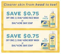 IF you want to try the amazing Dial acne face wash I have been using and get the same clear skin and unclogged pores, visit Dials facebook page. You can get coupons to help with the cost of your first purchase. You will not regret it! #bzzagent #gotitfree