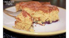 "Blueberry ""Boy Bait"" Cake {Gluten Free} - One Good Thing by JilleePinterestFacebookPinterestFacebookPrintFriendly"